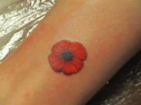 a poppy tattoo to remember those we ve lost yelp