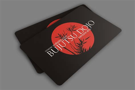 martial arts business card templates 25 fascinating psd business card templates