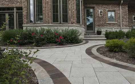 Unilock Umbriano brick paving landscaping landscape contractors landscape designers consultants landscaping