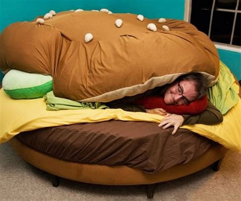 cheeseburger bed five innovative and fun beds for children luxurylaunches