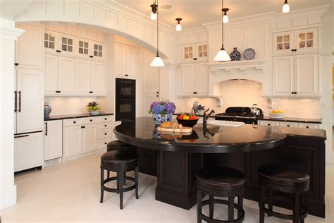 houzz kitchens with white cabinets black and white kitchen varieties steven cabinets blog