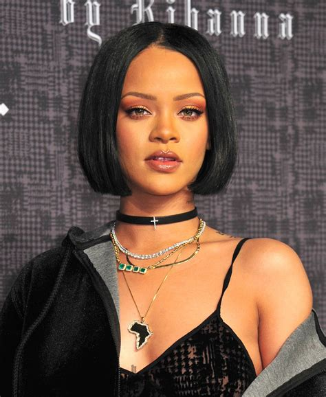 Rihanna Pictures by Rihanna Is Launching Own Makeup Line Beautygeeks
