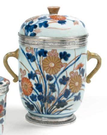 grand pot de fleur 1717 pots couverts en porcelaine du japon du dernier quart du