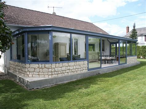 aluminium veranda vranda confort best veranda avec muret reims table