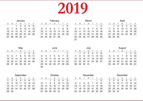 new year calendar monthly print calendar