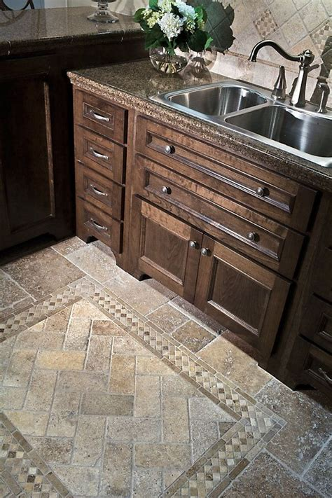 tile floor designs kitchen kitchen kitchen ideas pinterest