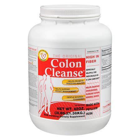 Colon Detox Walgreens by Health Plus The Original Colon Cleanse Hi Fiber Walgreens
