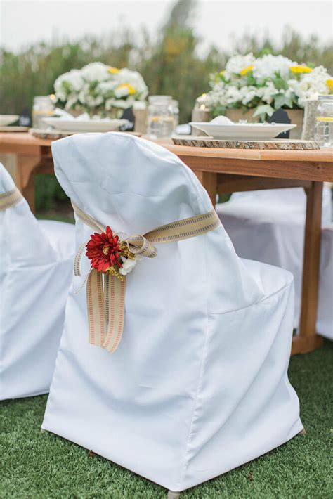 folding polyester chair covers wedding party shower  banquet  colors ebay