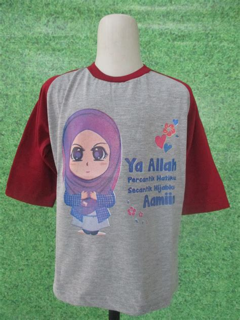 Promo Kaos Anak Muslim I Islam kaos islami rp 15 500