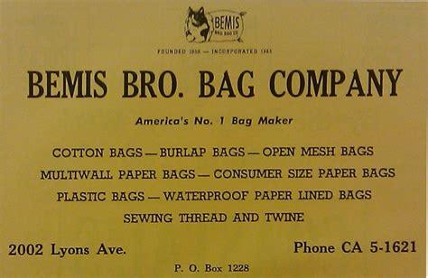bemis bros bag company houston