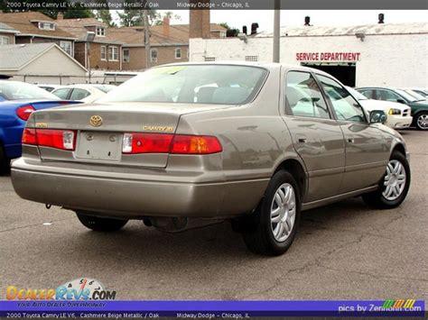2000 Toyota Camry Le V6 2000 Toyota Camry Le V6 Beige Metallic Oak