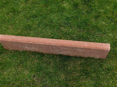 rasenkantensteine beton gewicht randsteine rot mischungsverh 228 ltnis zement
