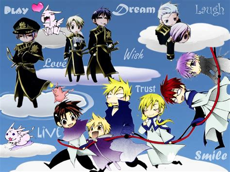 seven ghost chibi 7 ghost characters o v 07 ghost wallpaper