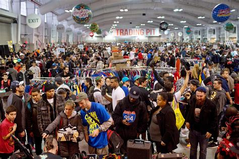 sneaker conventions sneaker con 2015 sneakerheads gather in new york city to