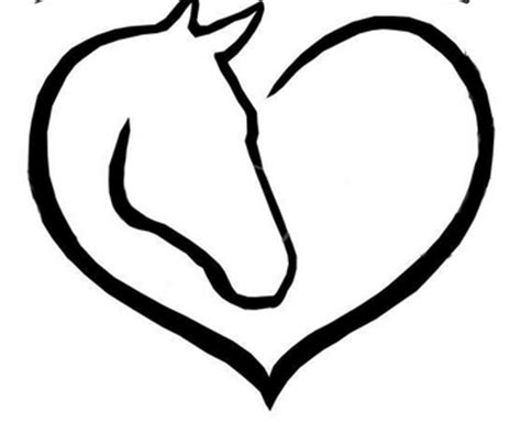 heartbeat tattoo with horse horse head heart possible tattoo new tattoo pinterest