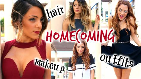 diy hairstyles niki and gabi homecoming hairstyles make up looks dress ideas with