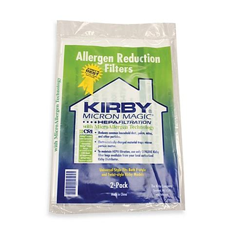 bed bath and beyond kirby buy kirby 174 2 pack size quot f quot vacuum bags for new sentria