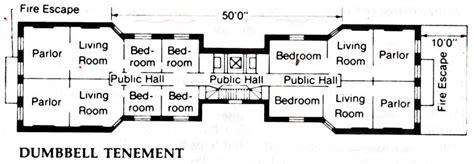 tenement floor plan thegildedage dumbbell tenement