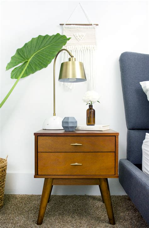 mid century modern nightstands   brepurposed