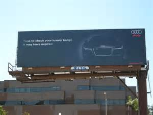 Bmw Audi Billboard Audi Vs Bmw Billboard War Photo Gallery Autoblog