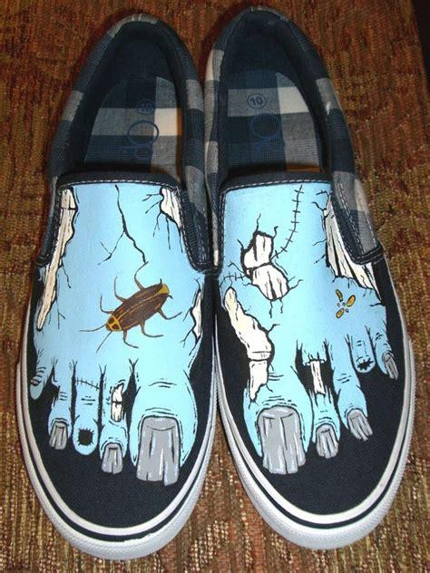 Flat Shoes Zombi 25 unique painting shoes ideas on disney