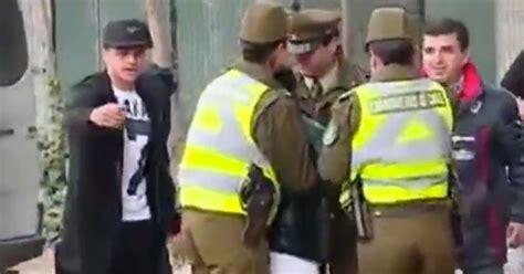 alexis sanchez rafael dos anjos alexis sanchez crying woman heavy handed police
