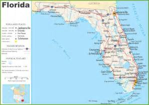 florida highway map florida highway map world map 07