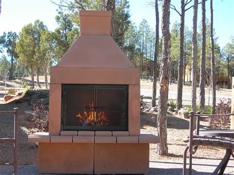 Outdoor Open Fireplace by Mirage Open Outdoor Woodburning Fireplace With