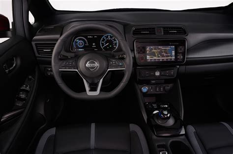 nissan leaf interior 2018 nissan leaf why 29 990 is more important to some