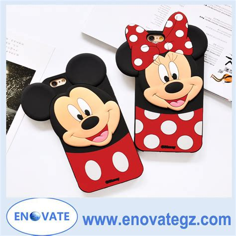 Mickey Mouse E0363 Iphone 7 Mickey Mouse Silicon For Iphone 7 7plus
