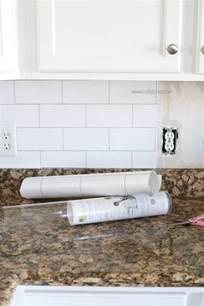 backsplash wallpaper that looks like tile faux subway tile backsplash wallpaper
