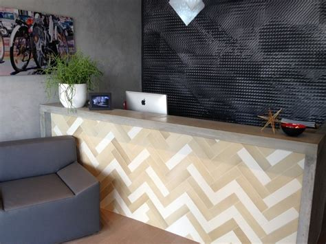 Tiled Reception Desk by Reception Desk Modern Kitchen Miami By Porto Designs