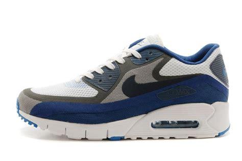 xu shoes nike air max 90 schuhe sneakers white light grey