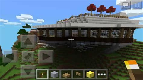 imagenes de casas epicas de minecraft minecraft pe epica casa en la monta 209 a descarga youtube