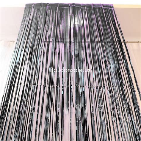 metallic silver foil fringe curtains buy red metallic foil fringed door curtain 2 4m party