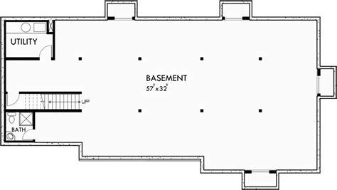 5 bedroom floor plans with basement master bedroom on main floor side garage house plans 5