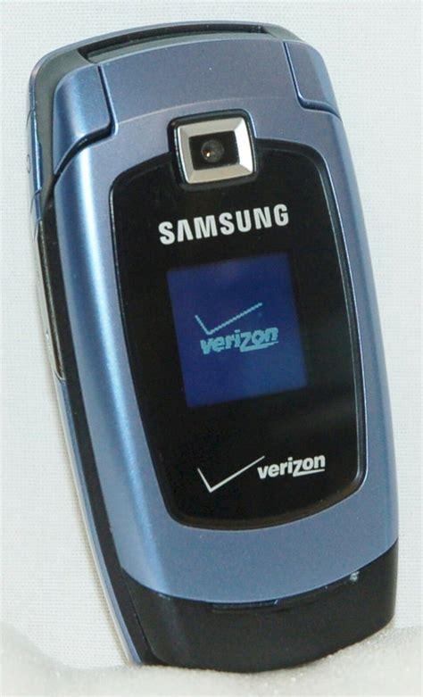 samsung snap verizon blue cell phone flip sch