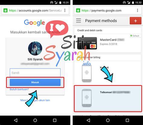 cara membuat game android untuk playstore cara ganti nomor tagihan playstore android