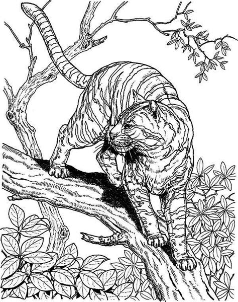 Coloriage Difficile Animaux pour adulte dessin gratuit à