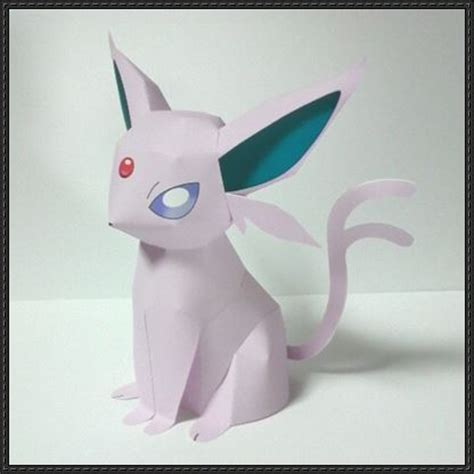 Espeon Papercraft - origami umbreon images images