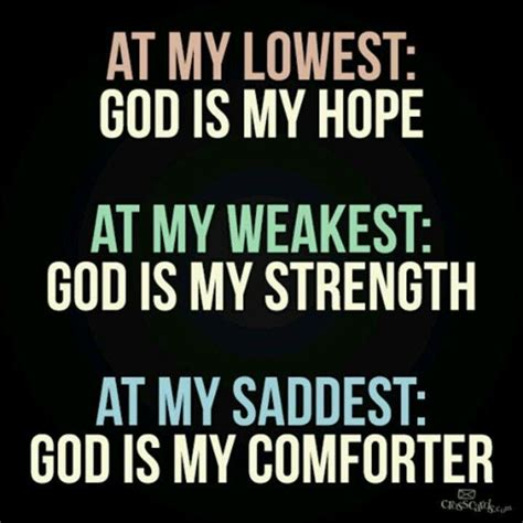 you are my comforter godly quotes encourage spiritual growth motivation jesus