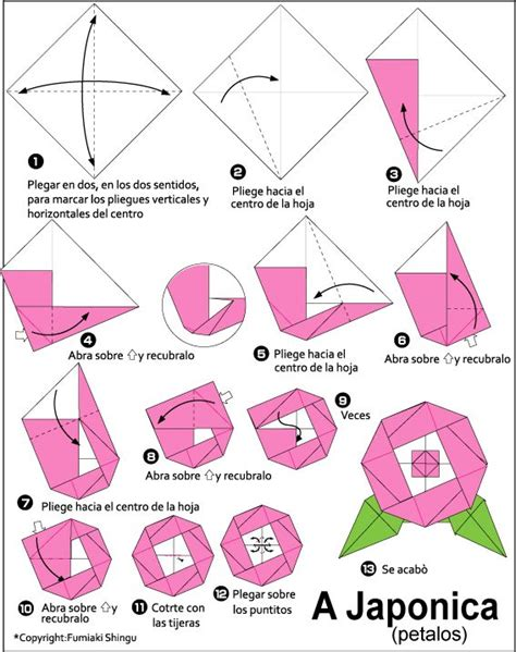 Origami Camellia - 17 best images about origami y papel on