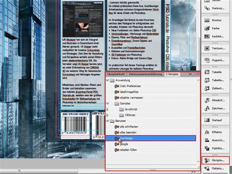 indesign jsx tutorial ean barcode erzeugen strichcode erstellen indesign
