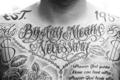 by any means necessary tattoo 10 beautiful letter tattoos gallery