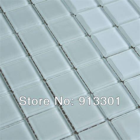 wholesale mosaic tile crystal glass backsplash kitchen crystal glass tile sheets light grey pattern mosaic tiles