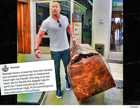 the huge bag of the rock so big so leathery tmz com