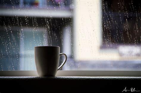 hot coffee cold rain  photography pinterest cold rain rain  bokeh