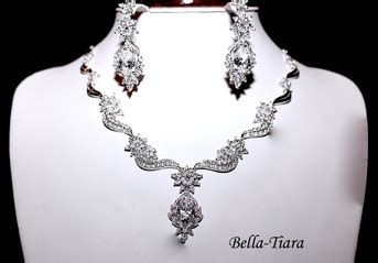 Kendra Royal kendra royal cz bridal necklace set special one left