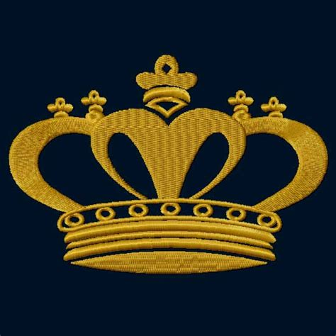 embroidery design crown 4 hobby com machine embroidery designs heraldic