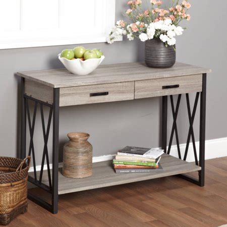walmart sofa tables jaxx collection sofa table walmart